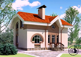 Частный одноэтажный дом