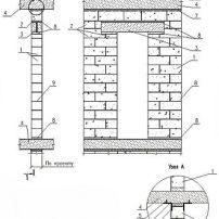 Кладка газосиликатных, газобетонных блоков. Внутренние стены из газобетона.