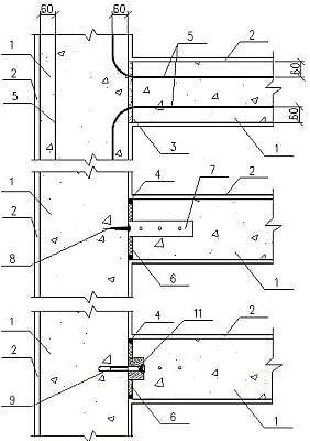 Соединения стен из газобетона анкерные