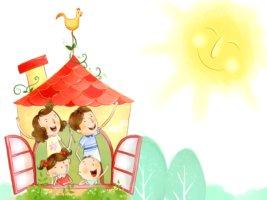 Семья строит частный дом