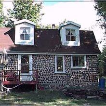Строим дровяной дом со стенами из дров — поленьев