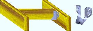 Чердачное перекрытие по деревянным балкам