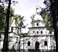 В стенах этой церкви крупнопористый керамзитобетон