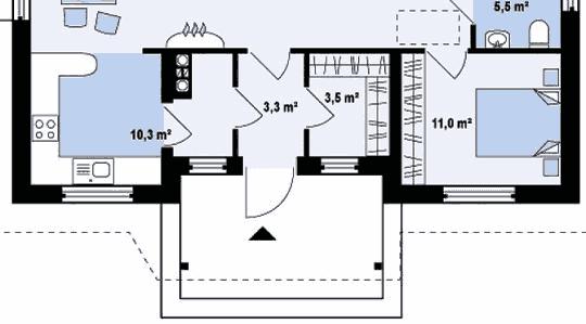 Встроенная гардеробная комната — преимущества, размеры и планировка