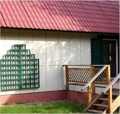 Обшивка стен каркасного дома цементно-стружечными плитами ЦСП