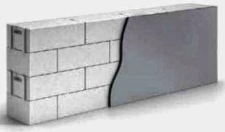 Стена дешевого не дорогого дома для южных районов