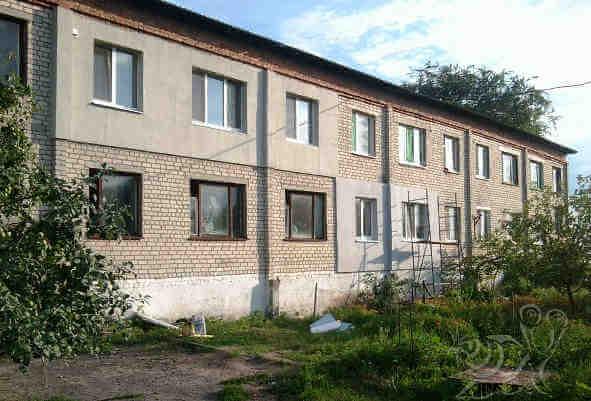 Утепление фасада старого многоквартирного дома снаружи