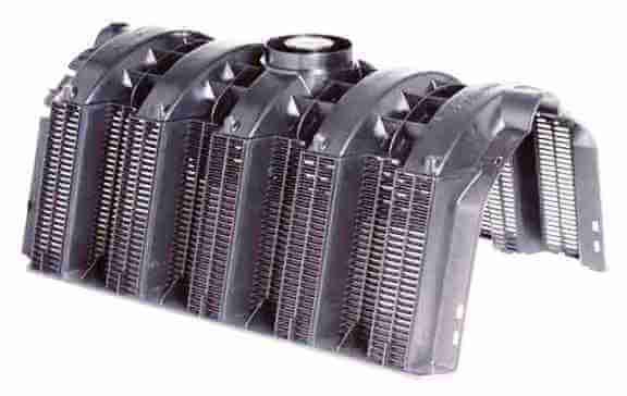 Секция, модуль дренажного инфильтрационного тоннеля