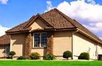 Крыша четырехскатная частного дома