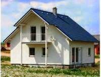 Двухскатная крыша частного дома