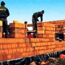 Материал для строительства однослойной наружной стены дома