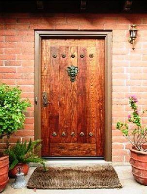 входные деревянные двери с улицы из дуба