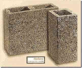 Блок каналов вентиляции