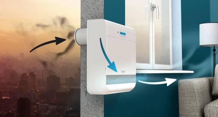 Проветриватель бризер в системе вентиляции частного дома