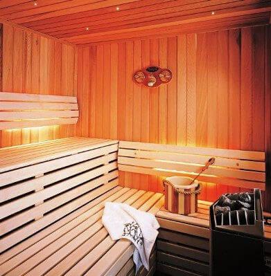 мини сауна баня в ванной