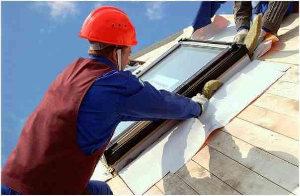 Гидроизоляция мансардного окна на крыше частного дома