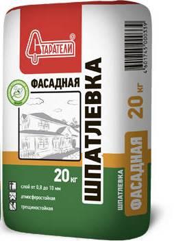 Фасадная шпатлевка для отделки газобетонных стен снаружи