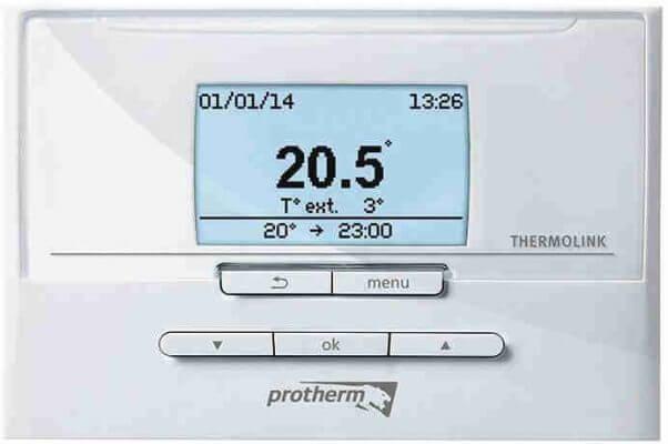 Комнатный программируемый терморегуляторProtherm Thermolink Pс интерфейсом(eBus)для газового котла Protherm Gepard (Panther)