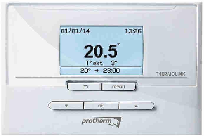 Комнатный терморегулятор Protherm Thermolink P (eBus) для газового котла Protherm Gepard (Panther)