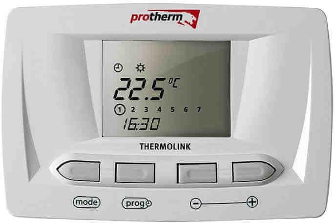 Комнатный терморегулятор - термостат Protherm Thermolink S для газового котла