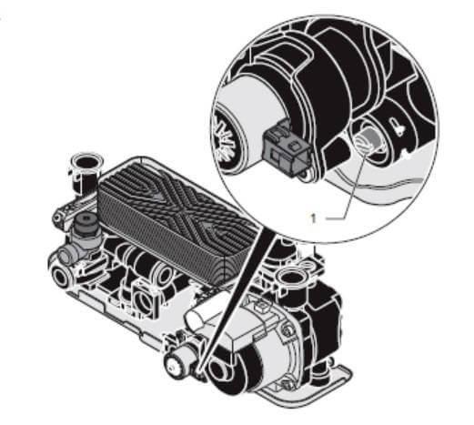 Перепускной клапан байпас газового котла