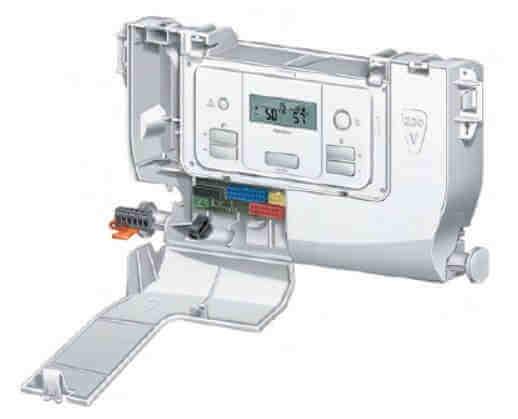 Двухконтурный газовый котел Protherm Gepard (Panther - Пантера) - отсек для подключения комнатного термостата