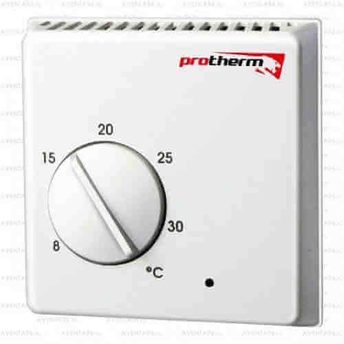 Комнатный терморегулятор - термостат Protherm Exabasic для газового котла
