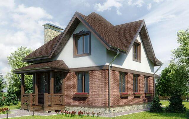 Мансардный этаж – строим дом с мансардным этажом самостоятельно