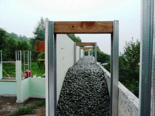 Строительство монолитных домов из керамзитобетона купить бетон казахстан