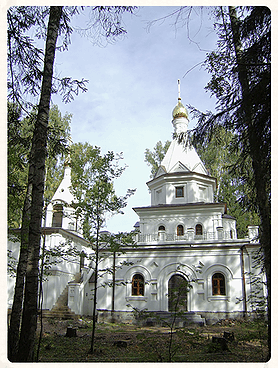 Церковь со стенами из крупнопористого керамзитобетона