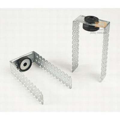универсальное звукоизолирующее крепление для каркасной перегородки и подвесного потолка