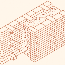 Дом, стена монолитная из крупнопористого керамзитобетона