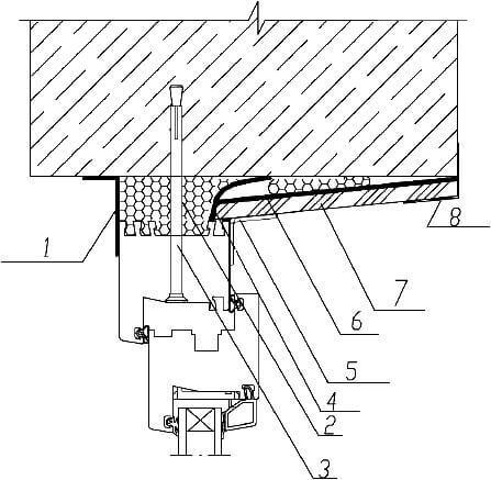 установка пластиковых окон по ГОСТ откос из гипсокартона