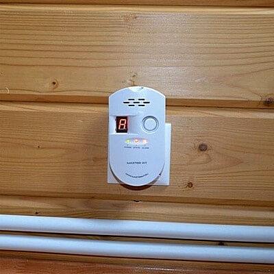 Сигнализатор загазованности, датчик утечки газа
