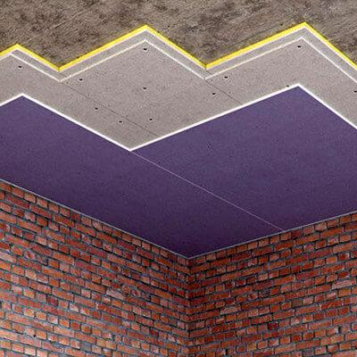 Шумо- звукоизоляция под натяжной потолок