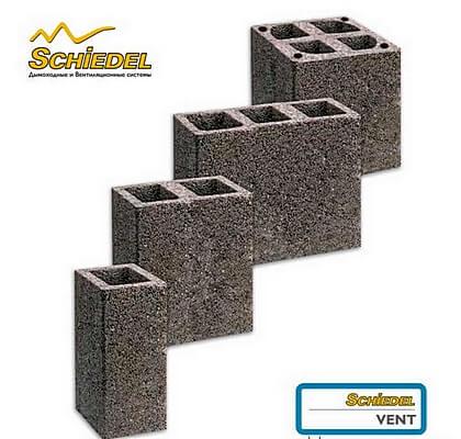 Бетонные блоки для каналов вентиляции в частном доме
