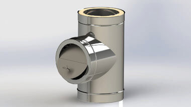 клапан стабилизатора ограничителя тяги в дымоходе