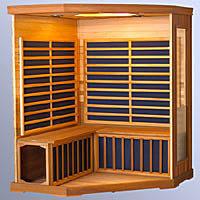 Кабина сауны с электрическими нагревательными панелями