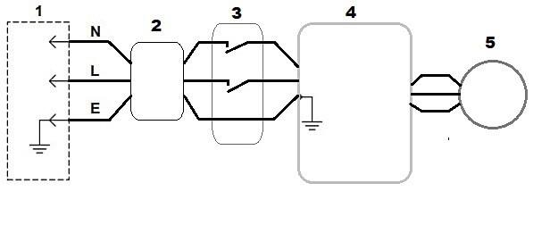 Электрическая схема бойлера для двухконтурного газового котла или колонки