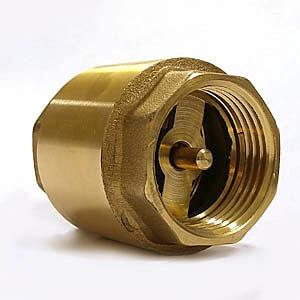 Клапан обратный в схеме бойлера для двухконтурного котла или газовой колонки