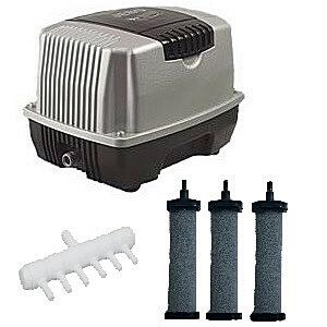 Мембранный компрессор аэратор для колодца