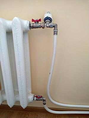 Радиатор отопления с термостатическим вентилем