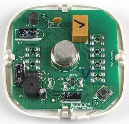 Сигнализатор загазованности Honeywell печатная плата