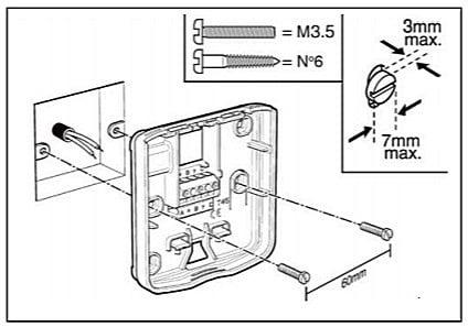 Установка монтаж комнатного термостата для котла