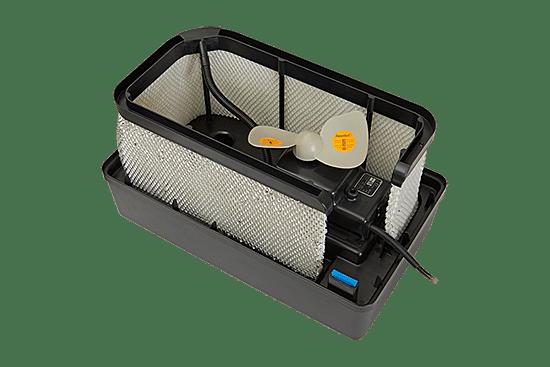 Увлажнитель мойка воздуха с неподвижным фильтром