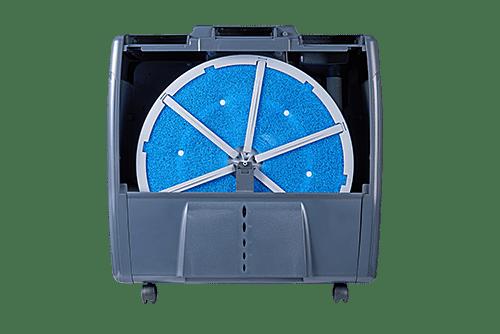 Увлажнитель мойка воздуха с вращающимся круглым фильтром