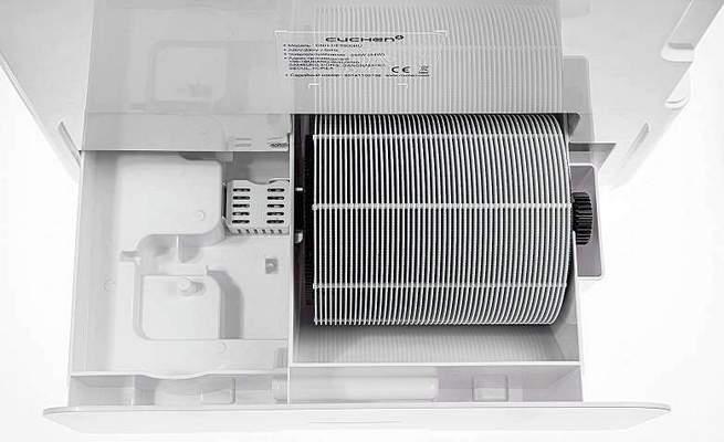 Увлажнитель мойка очиститель воздуха с ротором из дисков